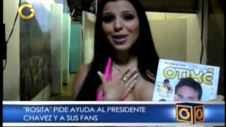 Rosita (Jimena Araya) pide ayuda a Chavez y sus Fans por la evasion del Pran Guerrero