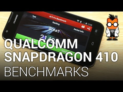 Qualcomm Snapdragon 410 Benchmarks (64 Bit SoC) - Huawei Ascend Y550