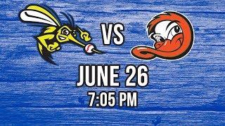 6/26/17-Sugar Land Skeeters vs. Long Island Ducks