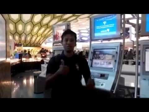 Ini bandara abu Dhabi negara UEA
