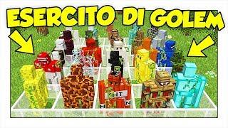 COME CREARE GOLEM CON OGNI BLOCCO DI MINECRAFT ITA!