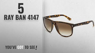 882a5461c7f Top 10 Ray Ban 4147   Winter 2018    Ray-Ban RB4147 - LIGHT HAVANA Frame  CRYSTAL BROWN GRADIENT