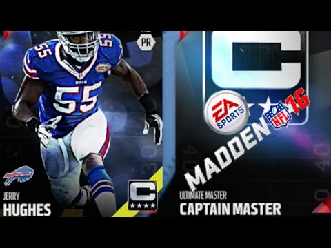 Madden 16 Captain Master Jerry Hughes Madden 16 Ultimate Team Free Tips