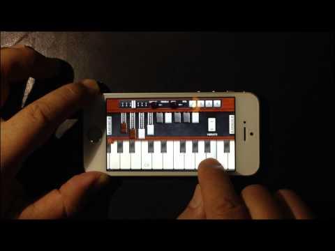 A Whiter Shade of Pale - Pocket Organ C3B3 (Hammond Organ App)
