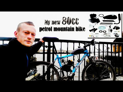 80cc motorized bike ride from Edmonton to London
