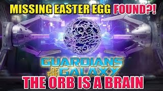 The Power Stone Orb is A BRAIN | Missing Guardians of the Galaxy Easter Egg FOUND?!