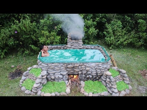 Unbelievable! Build Heated Swimming Pool For The Winter