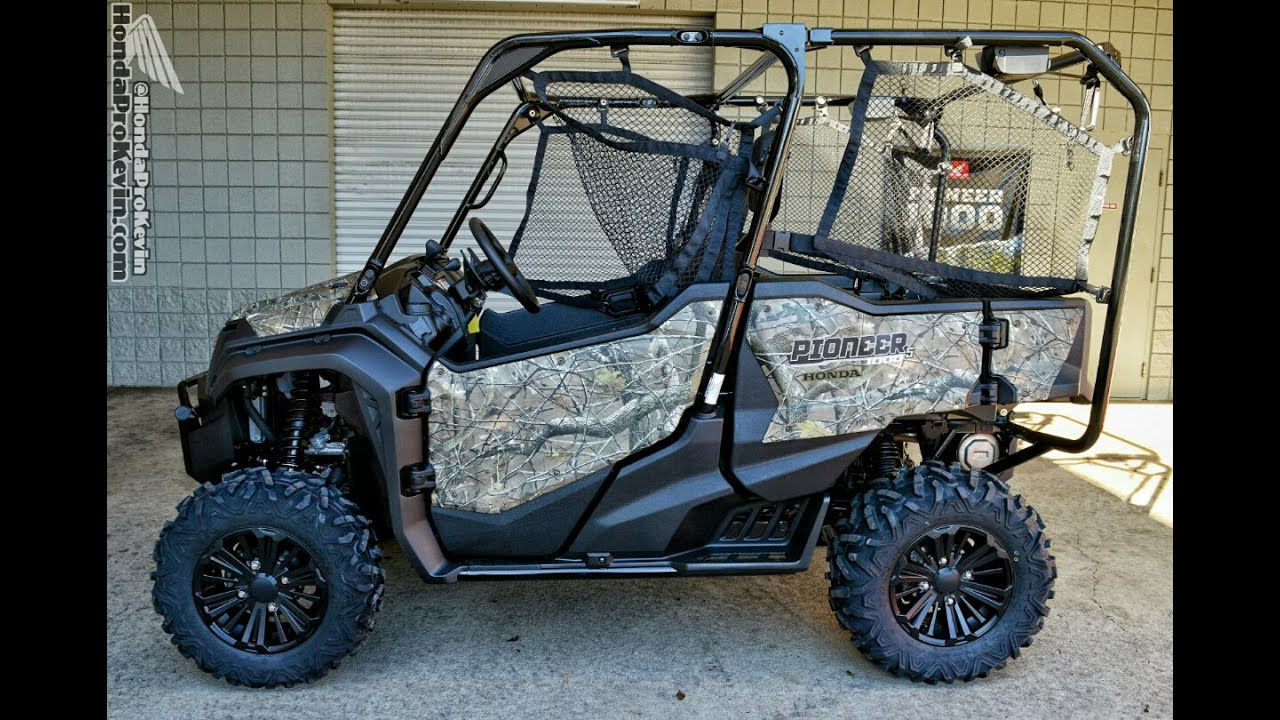 2016 Honda Pioneer 1000 5 Deluxe Camo Side By Side Atv