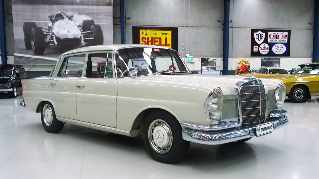 1965 Mercedes-Benz 220S 'Finnie' Saloon - 2020 Shannons Winter Timed Online Auction