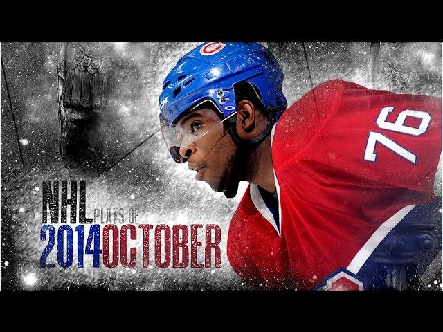 NHL Plays of October 2014 [HD]