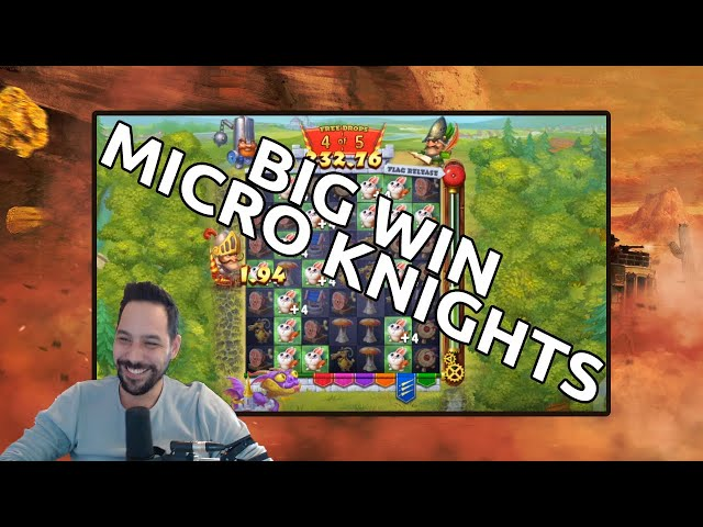 Micro Knights Big Win - Finally The Green Flag!