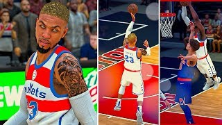 1st Game Starting | Playing All Positions / Clamping Pozingis | NBA 2k18 DB MyCareer #4
