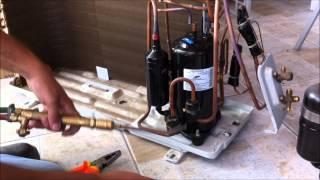 Trocando Compressor Ar Condicionado Split