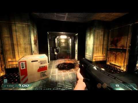 Doom 3: RoE Walkthrough Part 3 HD - Erebus - Level 3: Erebus Labs