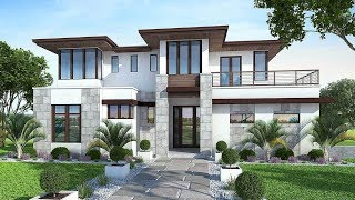 The Sims 4 - Real to Sims SERIES | Speed Build | Modern Family House Building