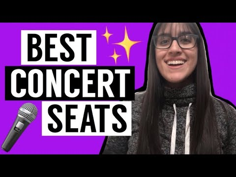 Concert Hacks: Getting The Best Seats