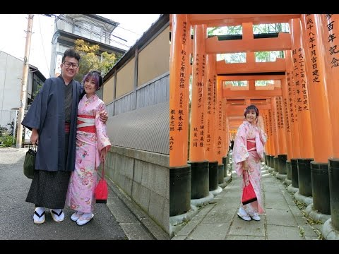 Japan Trip 2016   Kyoto Kimono Rental + Fushimi Inari