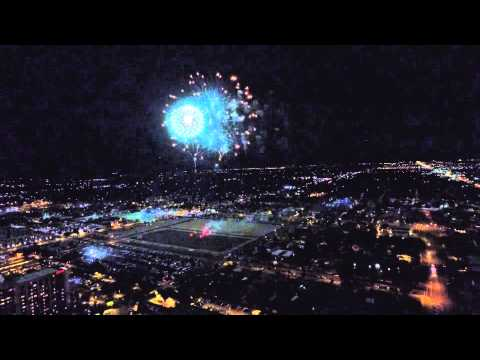 4th of July Fireworks Mesa AZ 2015
