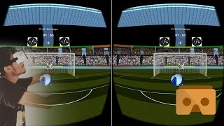 VR Soccer Header Game | VR 360 Soccer Header Game | VR Soccer Game