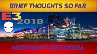 E3 2018: Brief Thoughts So Far - Microsoft/Bethesda (BO3 Multiplayer)