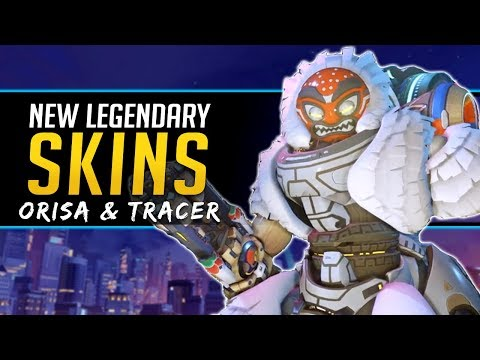 Overwatch NEW Legendary Skins Tracer & Orisa - Lunar New Year Event thumbnail