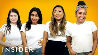 How Four People Style The Same $10 White T-Shirt