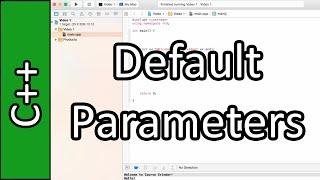 Default Parameters - C++ Programming Tutorial #24 (PC / Mac 2015)