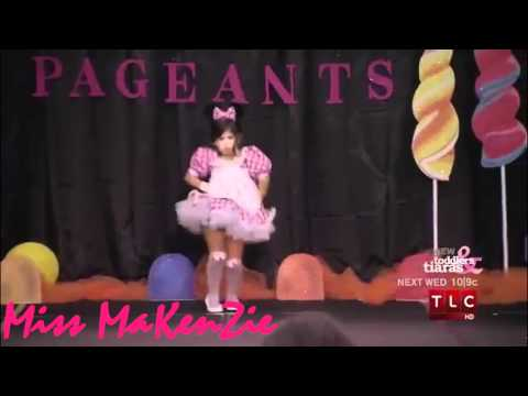 Makenzie Myers  :: Adorable Routine at lollipops & gumdrops pageant