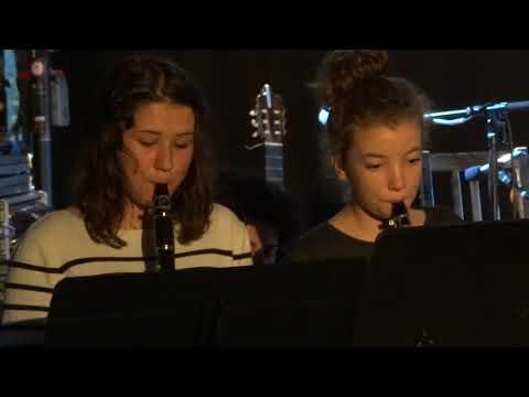 Concert de l'école de musique de Lodève 12 novembre 2017