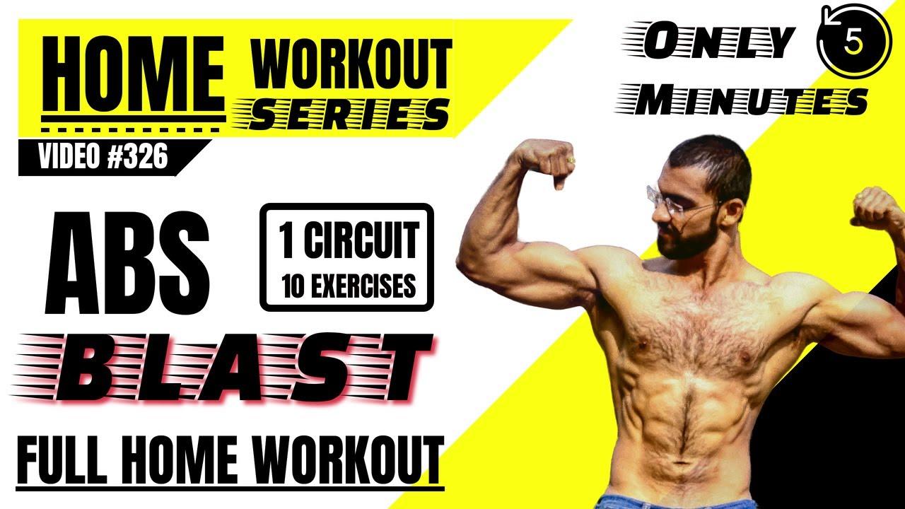 Best Abs Home Workout    Home Workout Series (एब्स होम वर्कआउट)