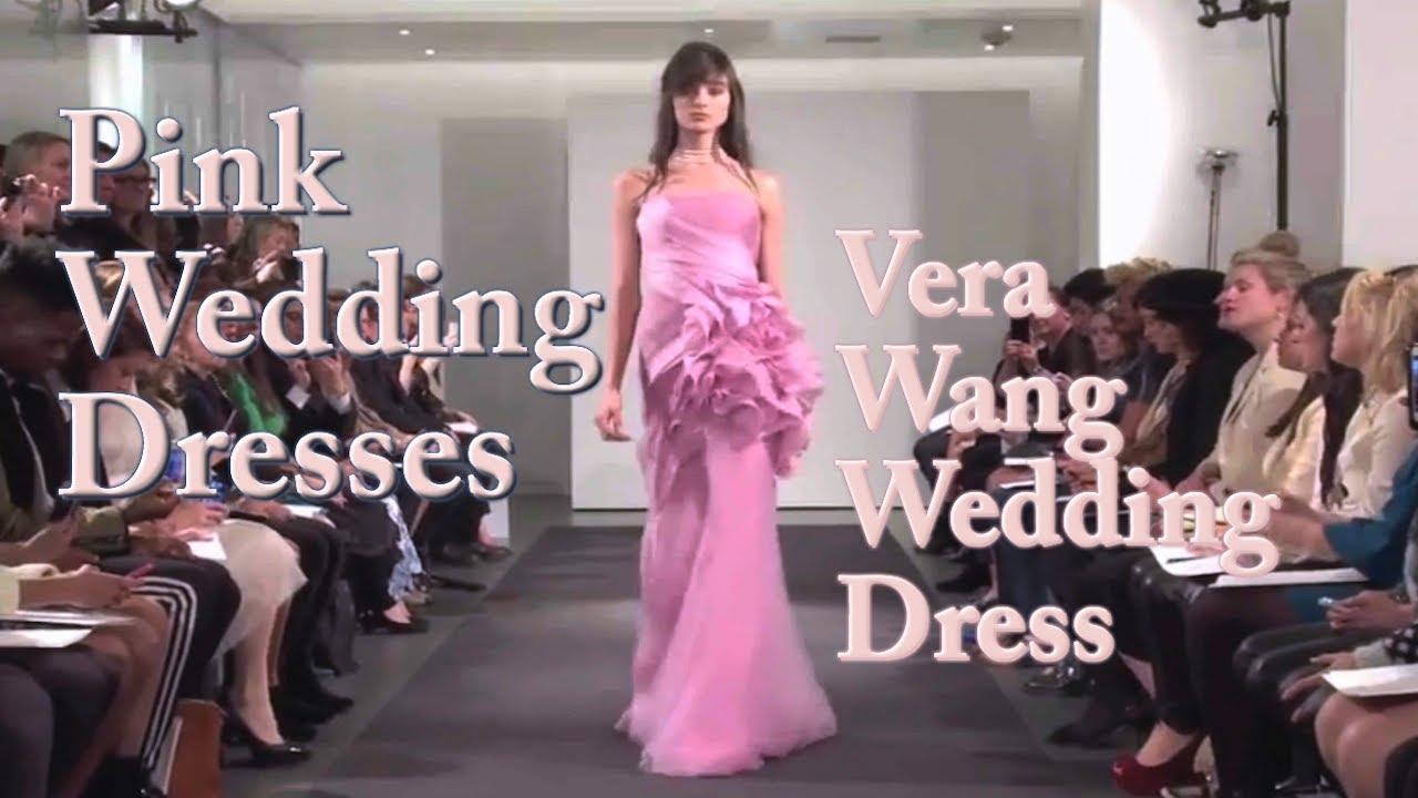 Vera Wang Pink Wedding Dress - Vera Wang All Pink Wedding Dress ...
