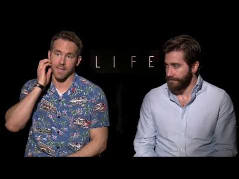 Ryan Reynolds and Jake Gyllenhaal get wacky! Raw interview Life