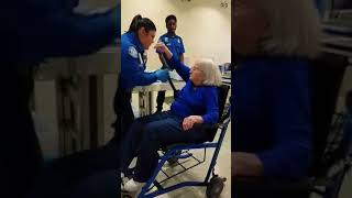TSA Searches 96-Year-Old Disabled White Woman; May 2018