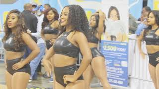 Southern University's  Gold'n Bluez dance team: Jada