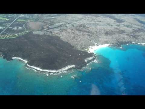 Hawaii Big Island Air Tours: Four seasons and Kua Bay beach, Cessna Caravan CE208