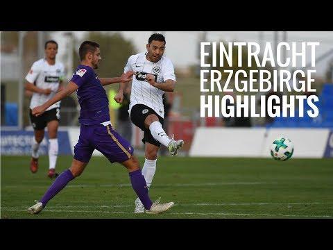 Eintracht Frankfurt - Erzgebirge Aue | Highlights
