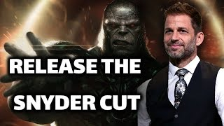 Ray Porter Was Cast As Darkseid In Zack Snyder's Justice League