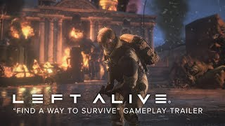 """LEFT ALIVE - """"Find a Way to Survive"""" Gameplay Trailer (Closed Captions) screenshot 4"""