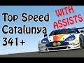 Real Racing 3 RR3 - Aston Martin Vantage GTE  2017  Top Speed Catalunya 341 + Km/h With assists