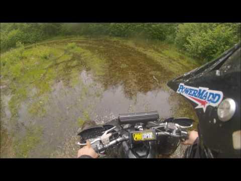 Yfz 450 trail riding