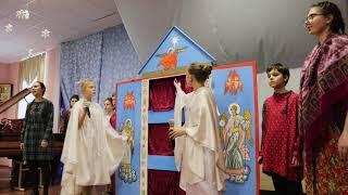 Вертепный театр  г Старица Свято Успенский монастырь