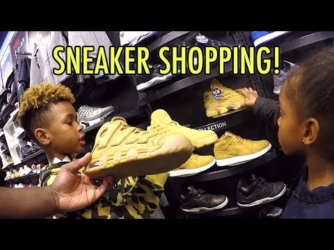 Tekkerz Kid goes Sneaker Shopping | Nike Jordan Sneaker Collection