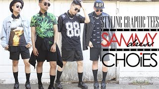 Styling Graphic Tees ft. CHOiES & SAMMYdress! Thumbnail