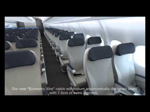 tangerine design new look for Azul's new A330-200 service