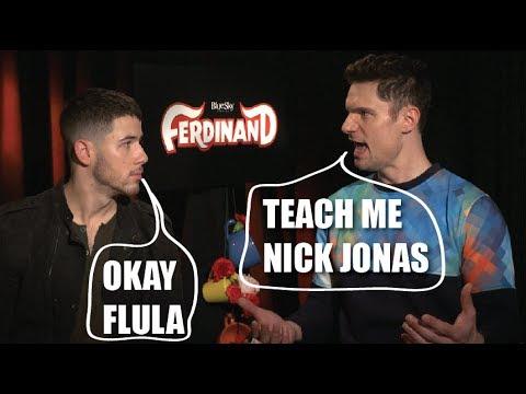 Nick Jonas Teaches Flula How to Write a Pop Song