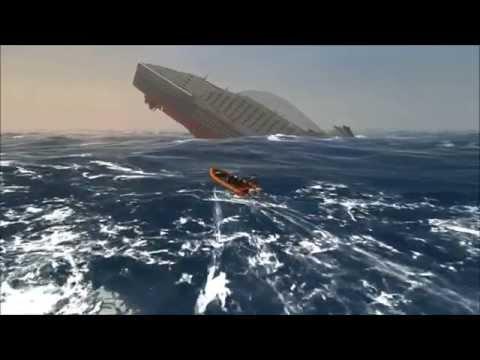 Ship Simulator Extremes - MS Oceana Iceberg Collision and Sinking