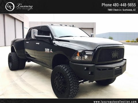 1633 2015 Ram 3500 Mega Cab Limited Full Kelderman Air