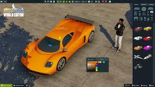 3DXChat World Editor