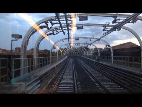 Metro linea C. Roma, Italia