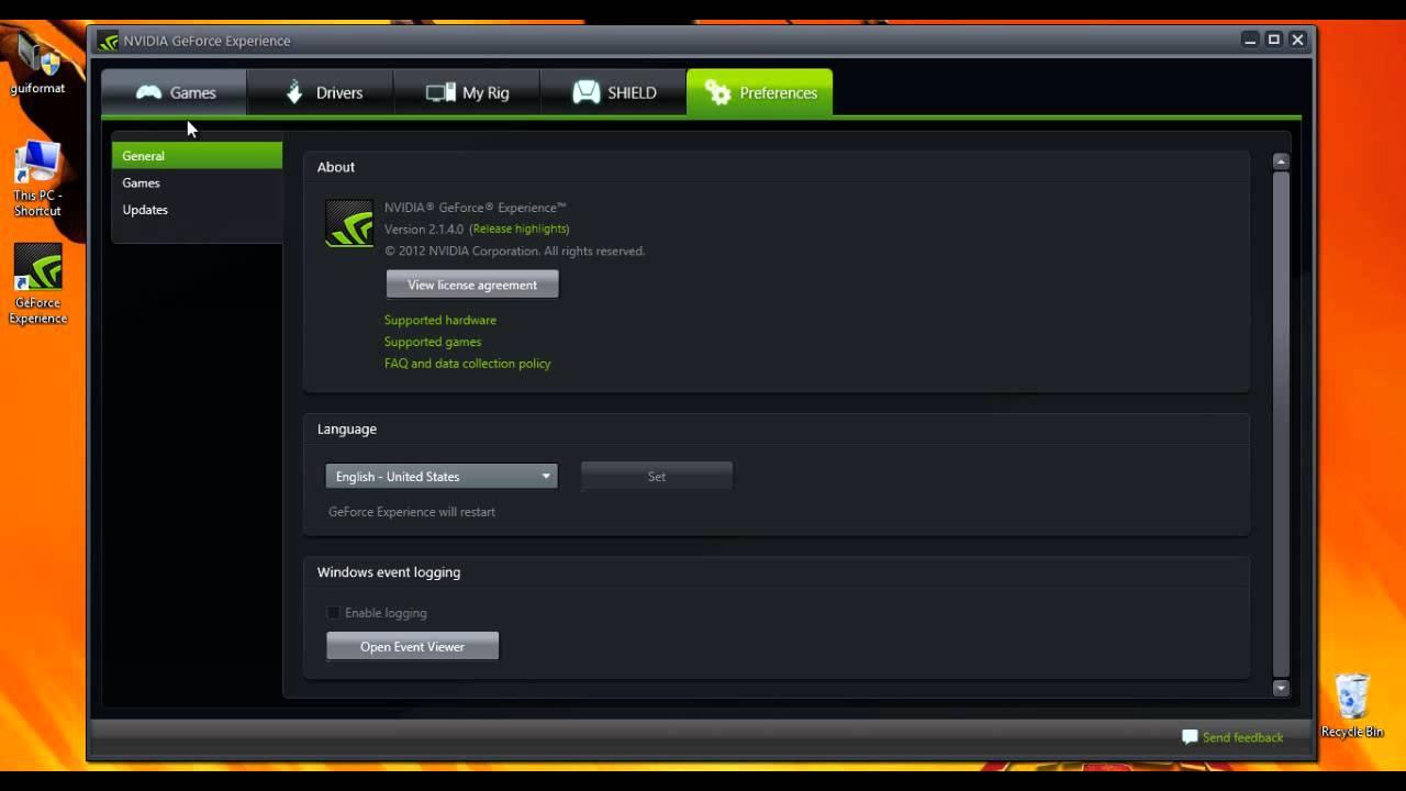 geforce shadowplay download